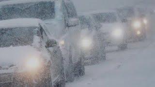 Массовые ДТП в Казахстане из-за непогоды парализовали дороги