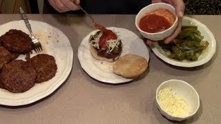 Homemade Sausage And Chuck Burgers