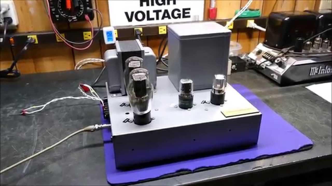 6b4g triode vacuum tube 10 watt power amplifier acrosound6b4g triode vacuum tube 10 watt power amplifier acrosound (williamson) circa 1947 design youtube