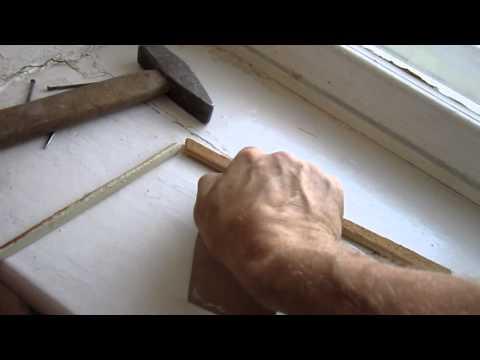 видео: Выравнивание внутреннего угла шпатлёвкой.