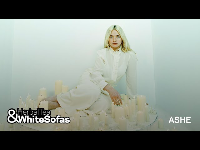 Ashe On Why She Lives For Coffee & Her Fans | Herbal Teas & White Sofas