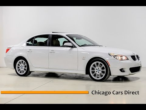 chicago cars direct reviews presents a 2010 bmw 5 series. Black Bedroom Furniture Sets. Home Design Ideas