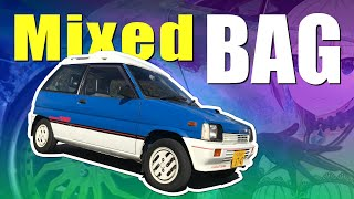 JDM All Sorts! Mitsubishi Minica Skyjack Turbo, and Itasha, US Cars, Kyusha, Shakotan