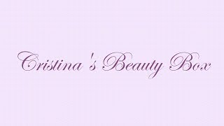 Cristina's Beauty Box // Channel Trailer Thumbnail