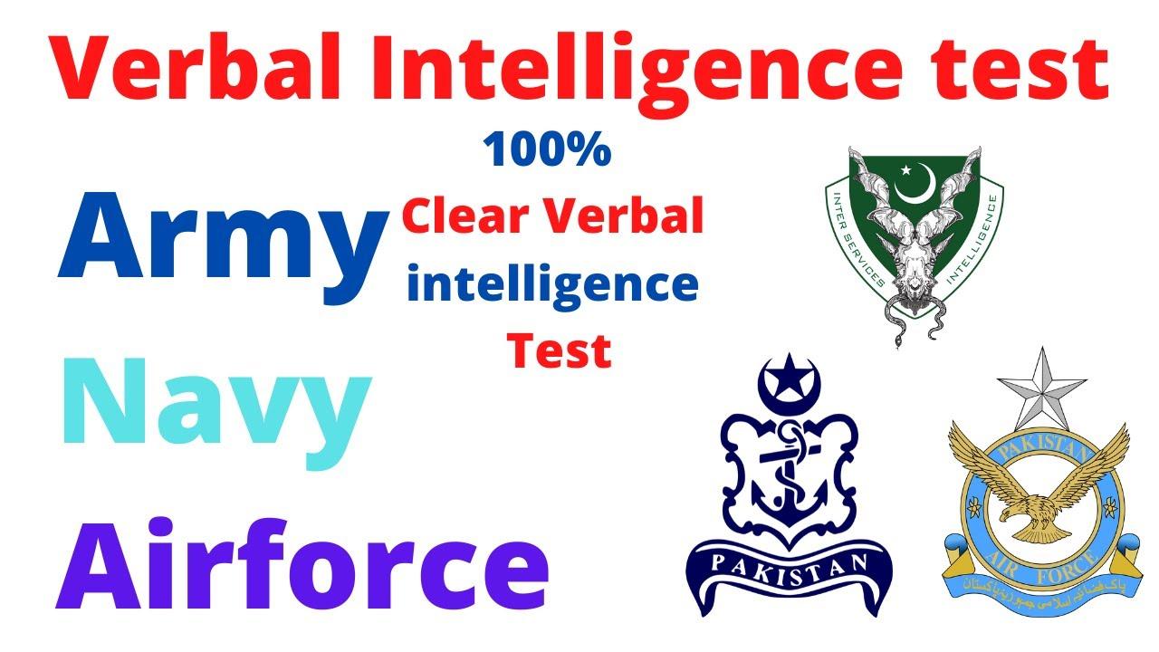 Verbal Intelligence test Part 1 - YouTube