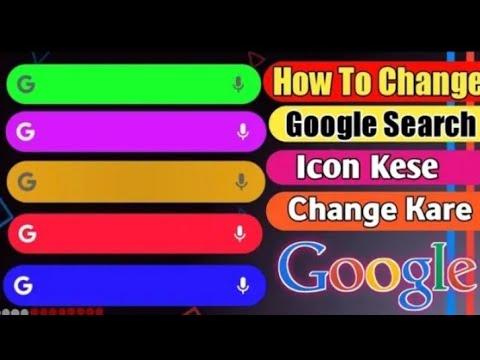 how to Google icon change kaise karen home screen per OK ...