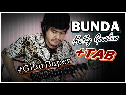 Melly Goeslaw - Bunda (Classical Fingerstyle Guitar) w/TAB
