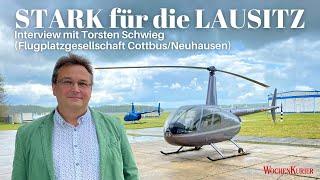 """""""STARK für die LAUSITZ"""" - Flugplatz Cottbus/Neuhausen will luftfahrtaffines Gewerbegebiet werden"""