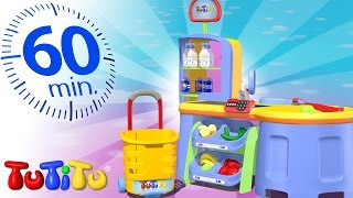 Repeat youtube video TuTiTu Specials | Super Market Toys | Other Popular Toys For Children | 1 HOUR Special