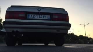 BMW e30 320i Sound full inox exhaust Supersport