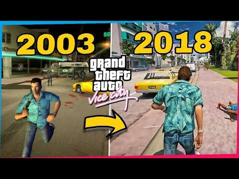 GTA Vice City Graphics Evolution From 2002 To 2020 | New Best Ultra Mods | Hanzala Live