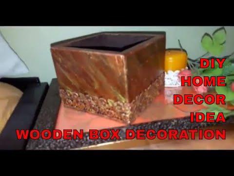 DIY Home Decor Idea || Wooden Box Decoration