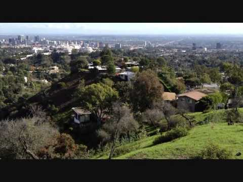 Los Angeles view from Brentwood 1