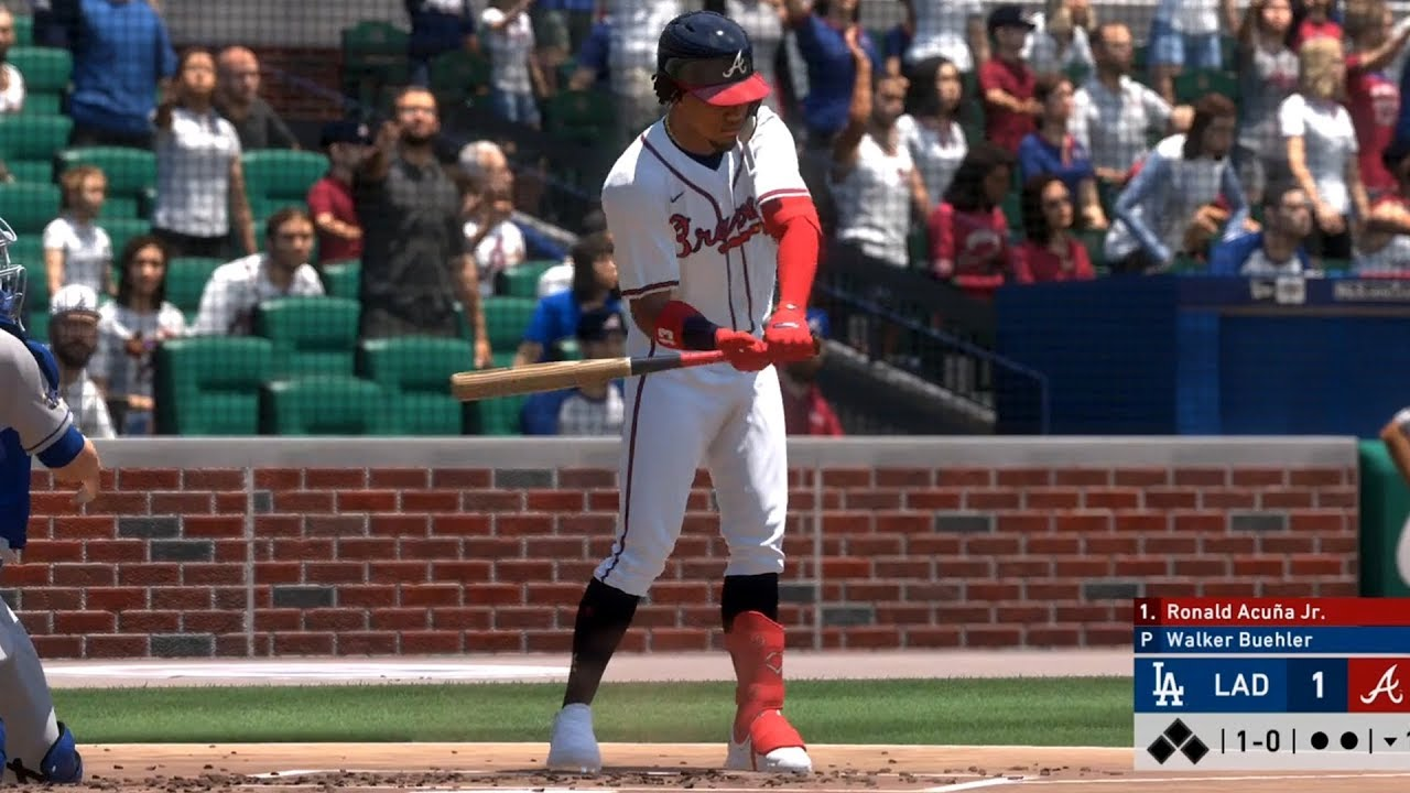 MLB The Show 20 - Atlanta Braves vs Los Angeles Dodgers - Gameplay (PS4 HD) [1080p60FPS]
