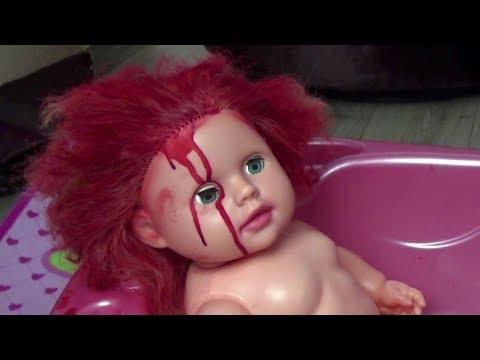 Lina Annesinden Gizli Bebeğinin Saçını Kırmızıya Boyadı | Eğlenceli Çocuk Videosu