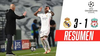 ¡VINÍCIUS LIDERÓ LA VICTORIA MERENGUE! | Real Madrid 3-1 Liverpool | RESUMEN