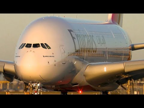 5 BIG PLANES Taking Off From VERY CLOSE UP | Melbourne Airpo