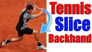 How To Hit A Slice Backhand In Tennis - 3 Instant Tips
