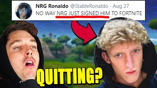 Tfue Joining NRG? Lazarbeam QUITTING YouTube? Epic Just made the BEST UPDATE EVER!