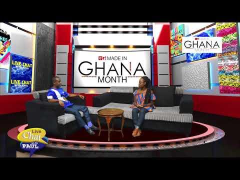 LIVE CHAT WITH FREDA NYAME ON ETV GHANA