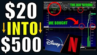 How I Made 2000% Buying Disney Stock – My Watchlist – Advanced & Beginner Options Trading