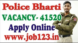 UP Police Recruitment 2018 – Apply Online for 41520 Constable Posts Full details