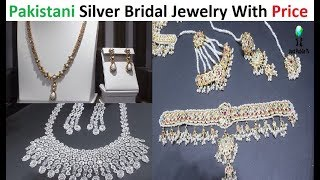 Pakistani Silver Bridal Jewelry With Price || The Gemini Silver || Cliff Shopping Mall