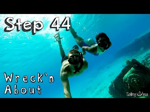 Wreck diving in the Bahamas— Sailing Uma [Step 44]
