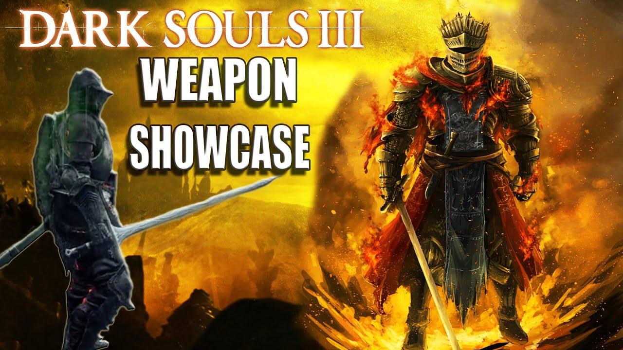 Dark Souls 3: NEW Gameplay - Great Scythe, Claymore, Halberd ...