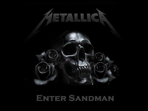Metallica: Enter Sandman Full Album (80s Style Black Album Remake)