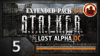 СТАЛКЕР Lost Alpha DC Extended pack 1.4 Прохождение. #05 Бар