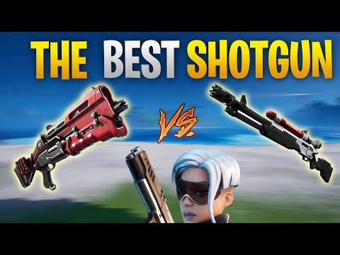 Charge Shotgun Vs Tac Shotgun Fortnite Chapter 2 Season 3