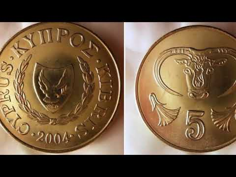 2004 CYPRUS 5 Cent Coin WORTH?
