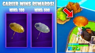 The New FREE REWARDS in Fortnite... (How to get GOLDEN UMBRELLA in Fortnite)