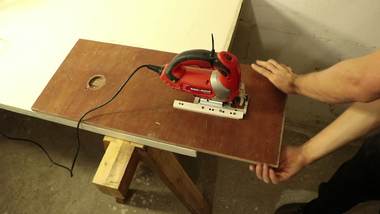 Building A Jigsaw Table In Under 60 Seconds Youtube