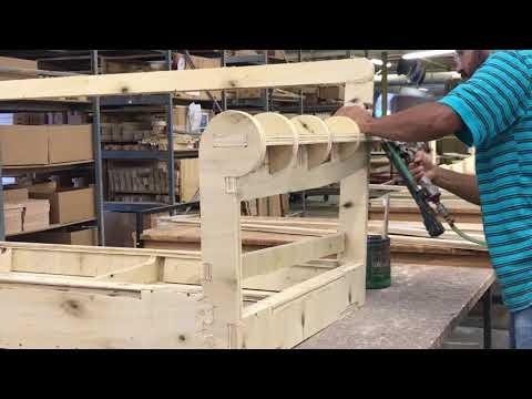 Manufacturing a Larsen Sofa