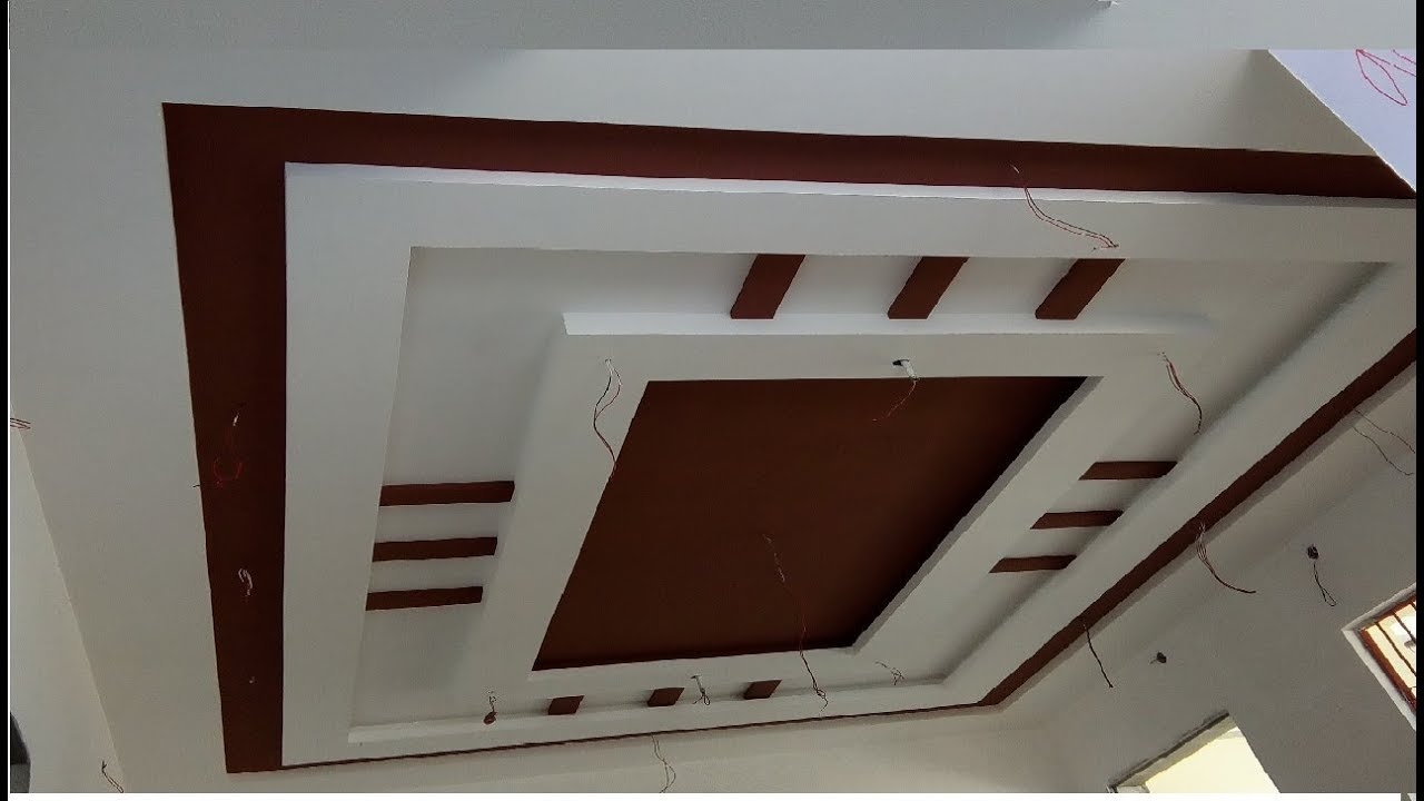 Best Gypsum False Ceiling Design For Hall 2018 Youtube