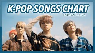 (TOP 100) K-POP SONGS CHART | AUGUST 2019 (WEEK 3)
