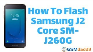 Flash Firmware Samsung J2 Core - Bikeriverside