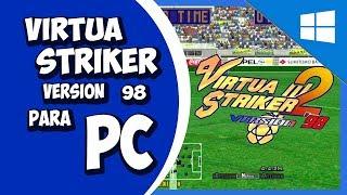 Virtua Striker 2 Versión 98´   Sega Model 3 Emulador