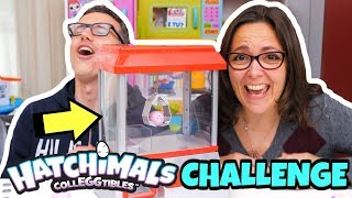 HATCHIMALS COLLEGGTIBLES: CHALLENGE alla Macchinetta