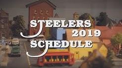 Pittsburgh Steelers' 2019 Regular Season Schedule has been Announced
