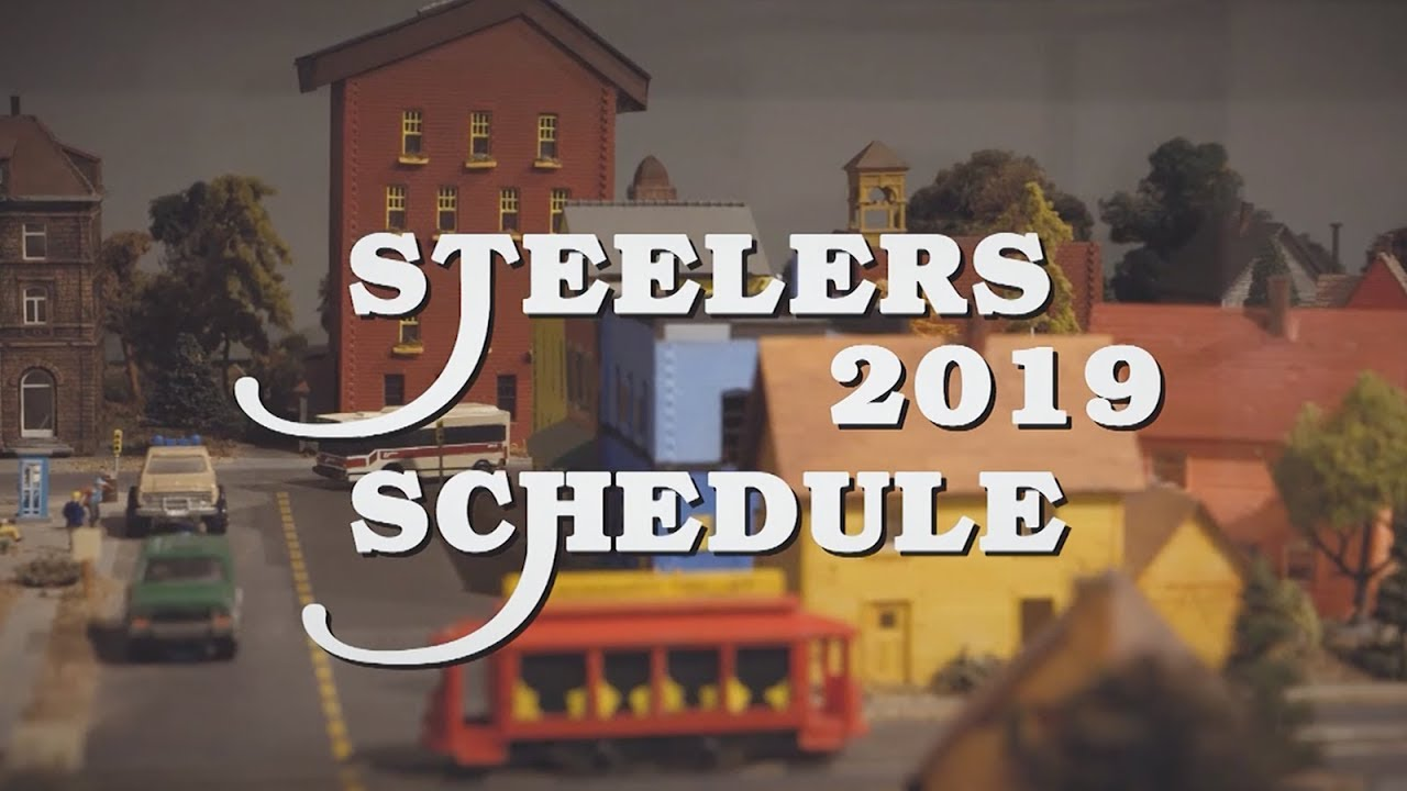 Pittsburgh Steelers 2019 Regular Season Schedule Has Been Announced