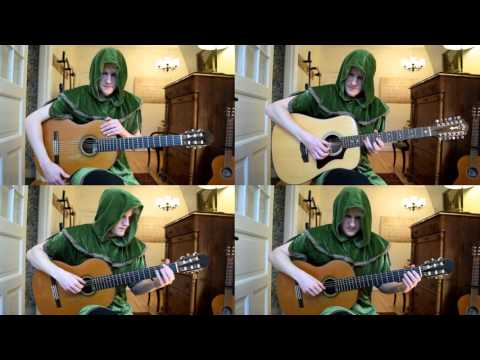 Zelda Ocarina of Time - Songs of Storms (Nintendo 64 Acoustic Classical Guitar Cover)