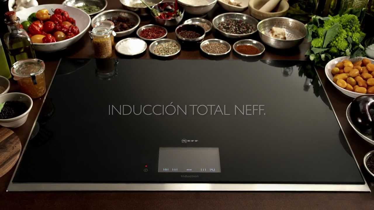 Placa Induccin Total de Neff  YouTube