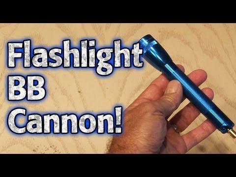 Flashlight BB Cannon!