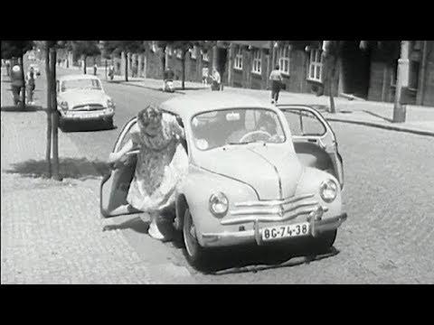 1960 Renault 4CV in Czechoslovakia