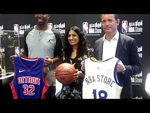 First NBA store In Middle East opens In Doha, Qatar