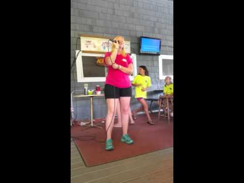 Karaoke at camp - And I Am Telling You