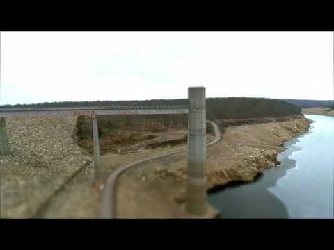 Francis E Walter Dam, White Haven PA. - Autel Xstar Premium Drone